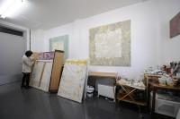 Kitty Jun-Im, Leven Road studio. Photo: Hugo Glendining