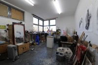 Rebecca Stevenson, Galleria studio. Photo: Hugo Glendinning.