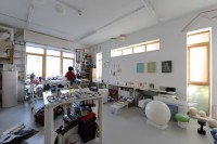Yukako Shibata, Harrow Road studio. Photo: Hugo Glendinning.